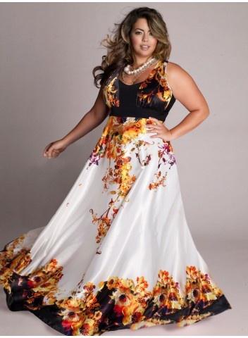 Нарядные длинные платья для девушек