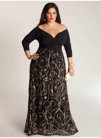 Платья для полных женщин маленького роста. Выбери свой стиль