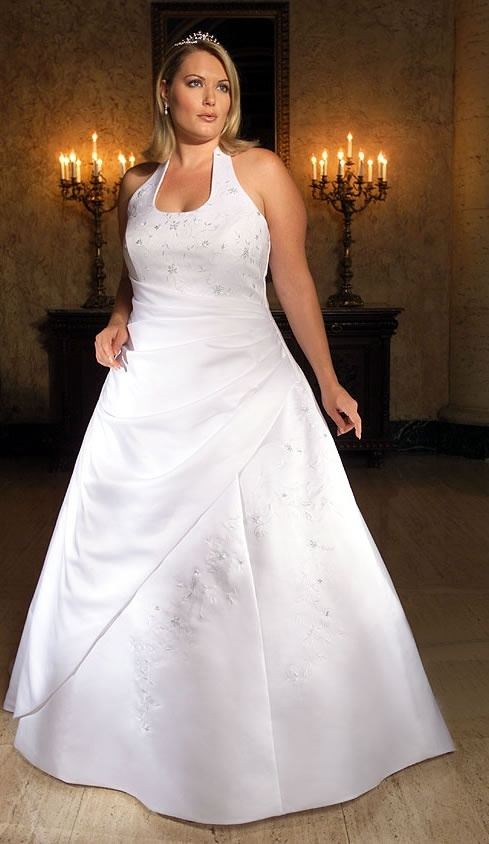 Фото свадебных платьев для полненьких