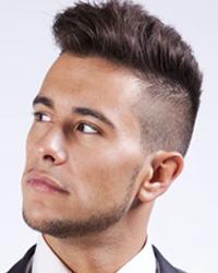 Стильная причёска мужская