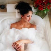 Сделайте свою собственную пену для ванны
