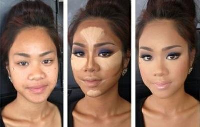 Как с помощью прически уменьшить лицо