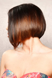 Прически на квадратное лицо с тонкими волосами