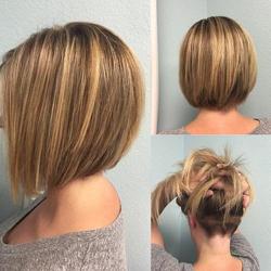 прическа боб фото на короткие волосы