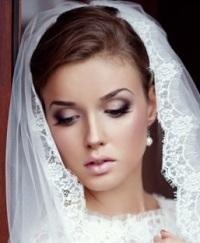 Свадебный макияж - нежный образ
