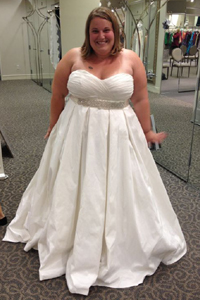 Какое свадебное платье подойдет полной девушке.фото