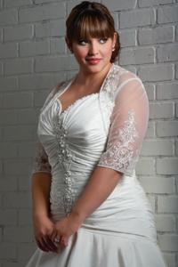 Выбор | Свадебная мода для полных - лучшие фасоны платьев больших