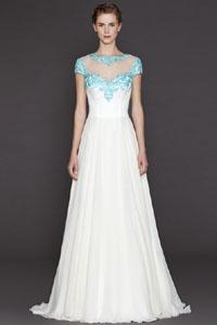 Еще одна новинка в свадебной моде 2015Свадебная мода 2015 - бесконечная элегантность