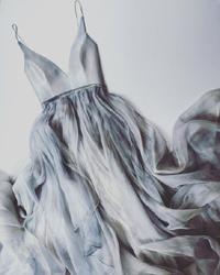 Серое свадебное платье: наперекор приметам