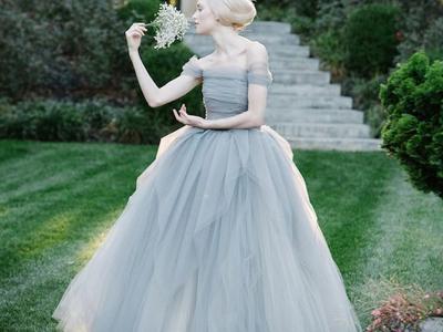 Свадебные приметы голубое платье