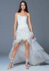 Короткие свадебные платья - новая символика