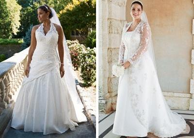 Купить кружевные свадебные платья 2015 недорого и мода