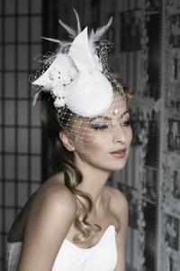 Свадебные шляпки: выбор смелых