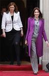 Ланч с Карлой Бруни-Саркози - модные промахи британских леди