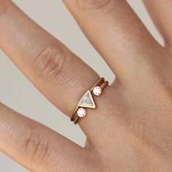 Кольцо на среднем пальце гей