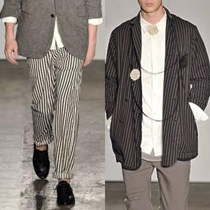 Десять актуальных трендов мужской моды 2009