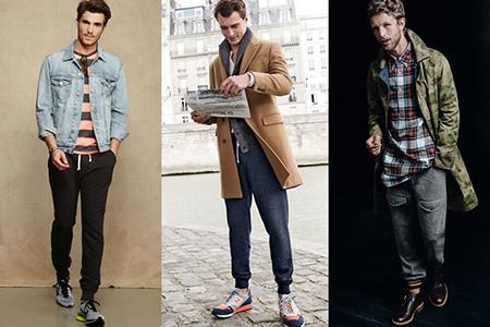 Стили мужских брюк