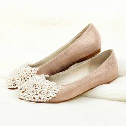 50729bf65 Туфли без каблука к платью для выпускного вечера: как сделать выбор