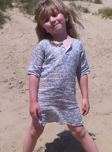Ребенку на пляж сшить 67