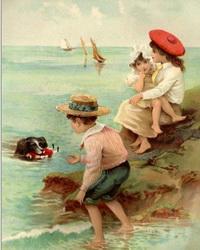 Детская мода девятнадцатого века – уменьшенные копии вкуса родителей