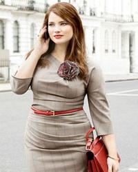 Деловая одежда для больших размеров - модные вещи для полных женщин