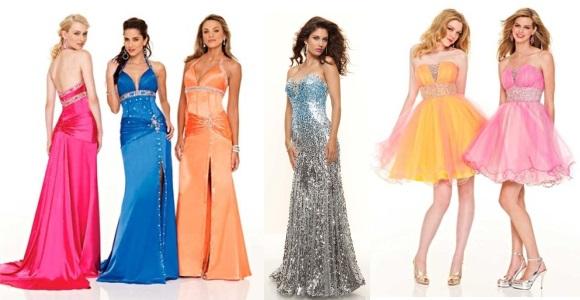 Платья фасоны на выпускной вечер