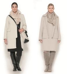 Зимняя одежда для женщин для полных