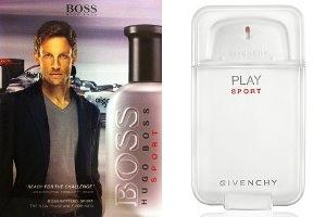 Givenchy и Hugo Boss выпускают спортивные ароматы