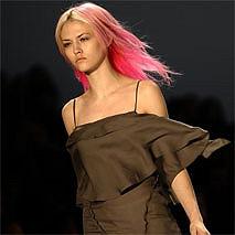 Розовые волосы – стильные ужасы новой моды