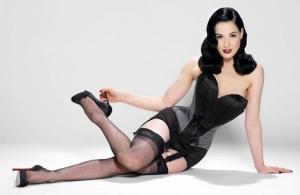 Дита фон Тиз выпускает собственную коллекцию нижнего белья