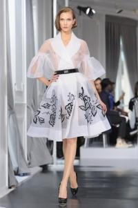 Высокая мода Dior весна-лето 2012 – прозрачное ретро