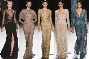 Коллекция haute couture от Elie Saab