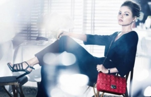 Рекламная кампания Dior с участием Милы Кунис