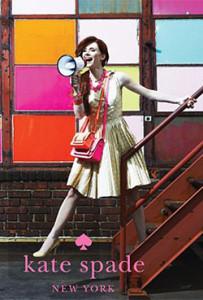 Лицом модного бренда Kate Spade впервые стала актриса