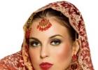 Традиционный индийский свадебный макияж: главное - кожа