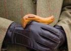 Кожаные перчатки: красиво и практично