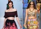 Модные тренды сезона весна-лето 2012 - принты, ассиметрия и мини