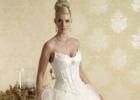 Зимние свадебные платья 2012: магия кружева