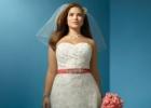 Тренды свадебных платьев 2012 для больших размеров: красота в теле