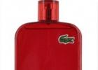 Одеколон Eau de Lacoste L.12.12 Rouge/Red – цвет страсти