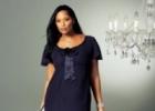 Красивая модная одежда для полных женщин в 2012 году
